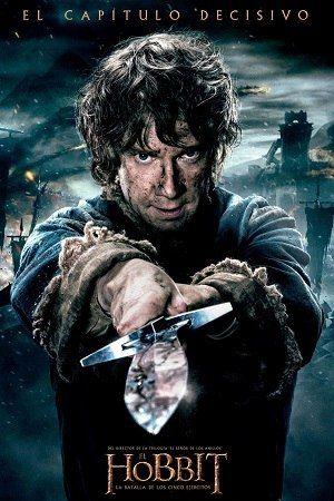 El Hobbit La Batalla De Los Cinco Ejercitos Pelicula Completa Online Hobbit Filme O Hobbit Posteres De Filmes