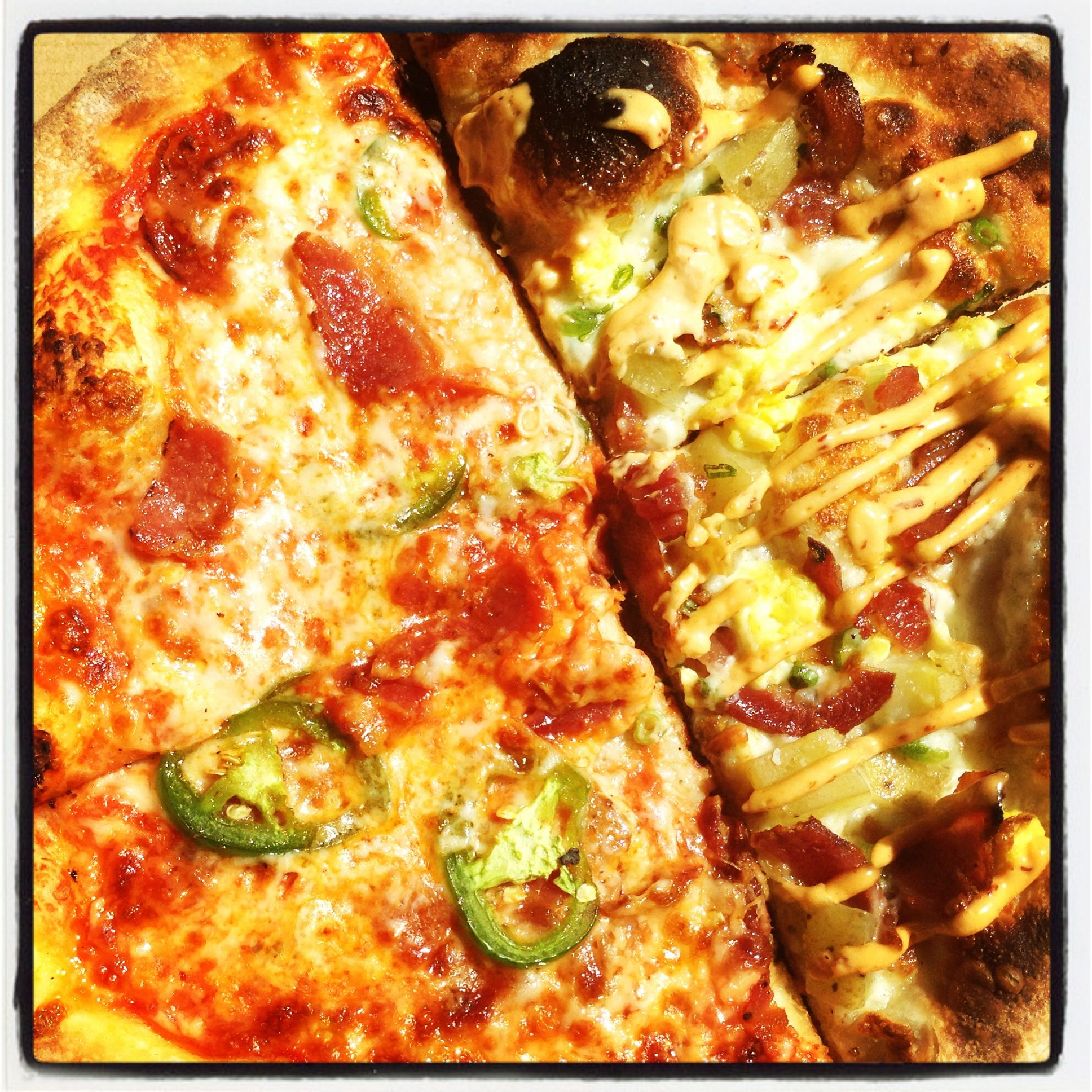 Olivewood pizza at peters landing farmers market