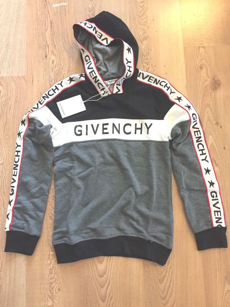 a2dc9808053f Givenchy Long Sleeve Hooded Women s Cotton SweatShirt Size XL  fashion   clothing  shoes