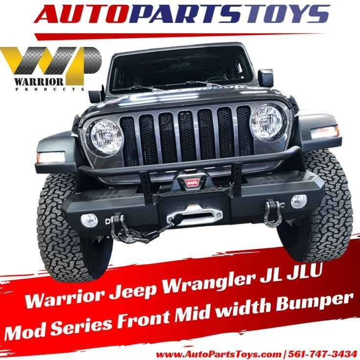 Warrior 20182019 Jeep Wrangler JL JLU Mod Series Front