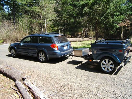 Subaru Trailers Outback Trailers And Forester Trailer By Tentrax Subaru Trailer Tent Trailer
