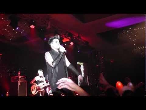Floorbert Video Adam Lambert Nye Bali 2013 Are You Gonna Go My
