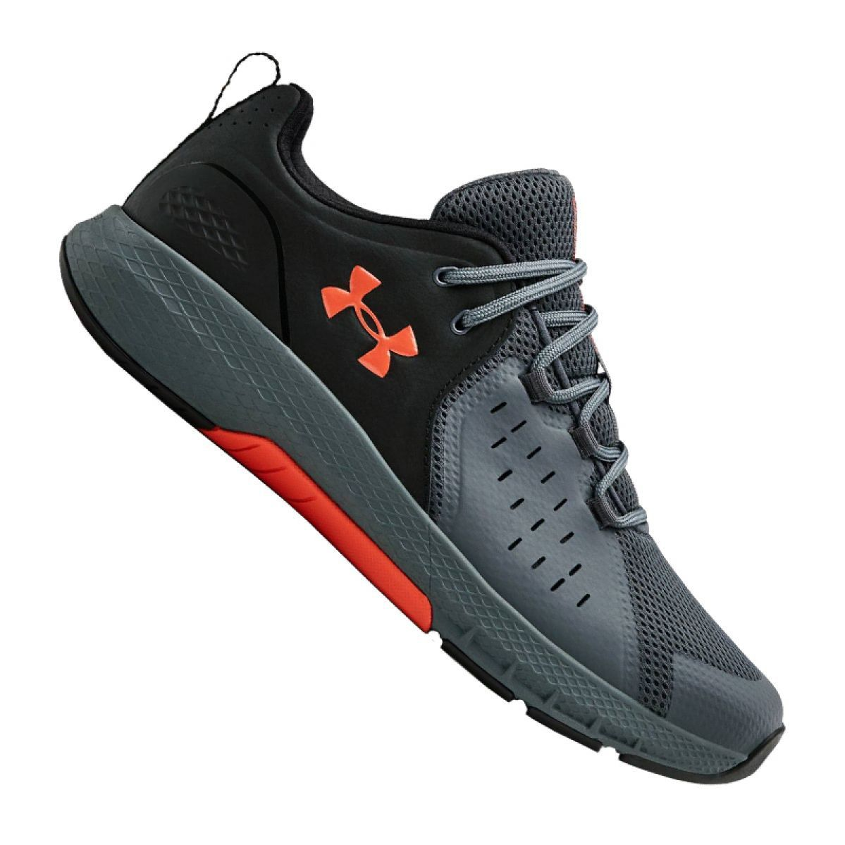 Buty Treningowe Under Armour Charged Commit Tr 2 0 M 3022027 003 Czarne Szare