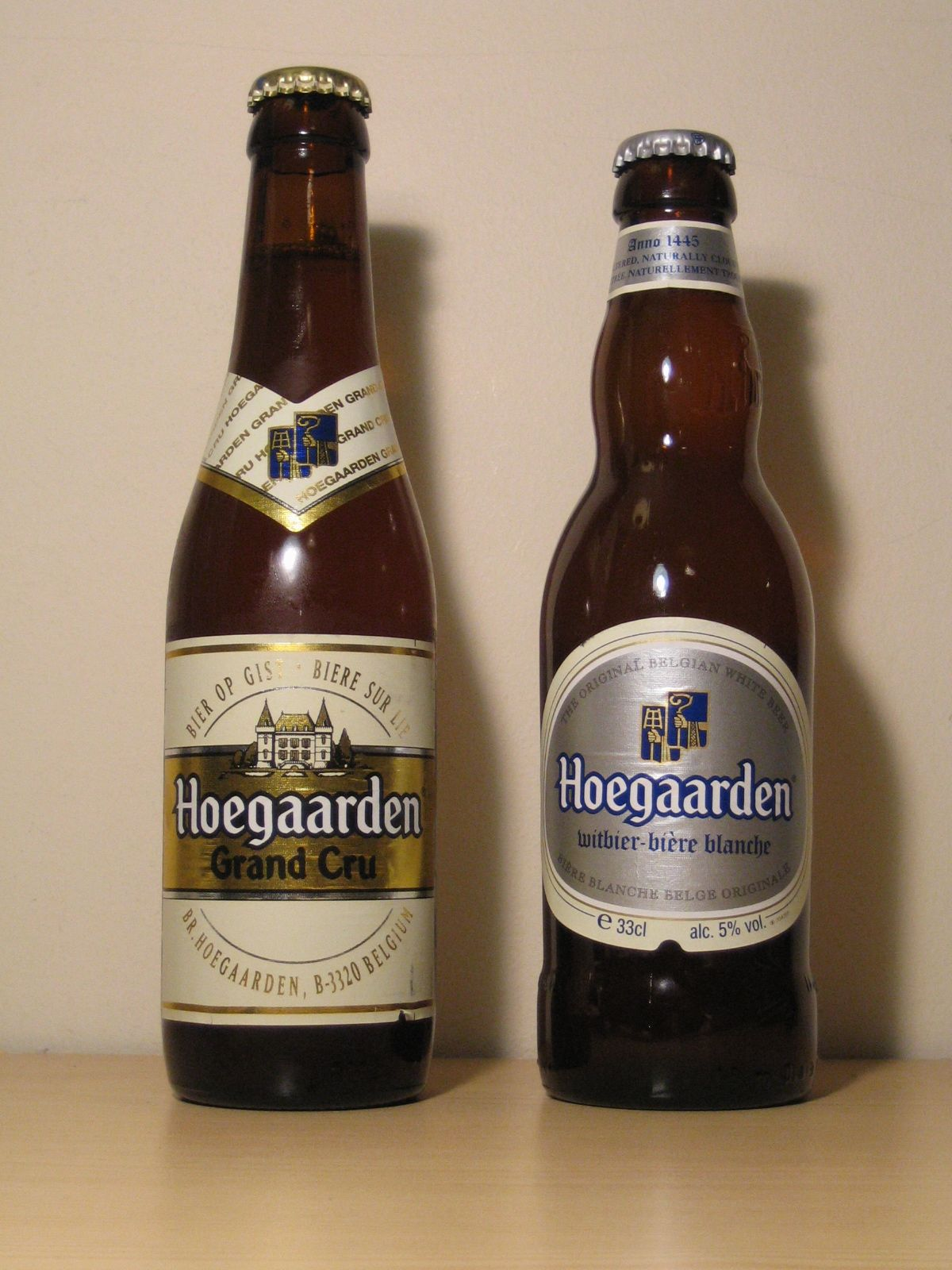 Hoegaardens Grand Cru Original Wheat Beer This Is A Wonderful