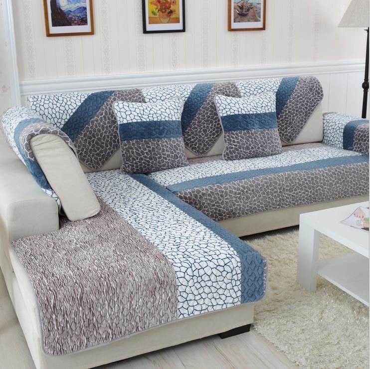 Modern Sofa Slipcovers | Sofa covers, Couch covers, Printed sofa