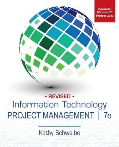 Information Technology Project Management, Revised Project