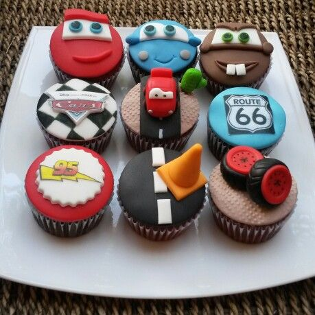Disney Cars Cupcakes Cupcakes Harmony Pinterest Cars
