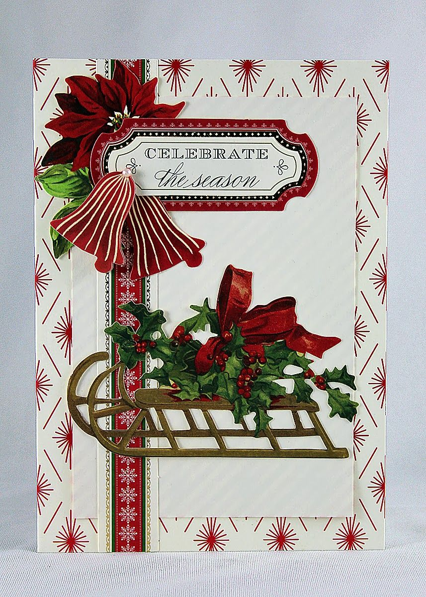 Designs by Robin: Anna Griffin Holiday Trimmings Cards - Day 1