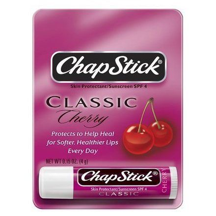 ChapStick Lip Balm Cherry 0.15 oz (Pack of 6) Lavera Purifying Scrub (for All Skin Types)  50ml/1.6oz