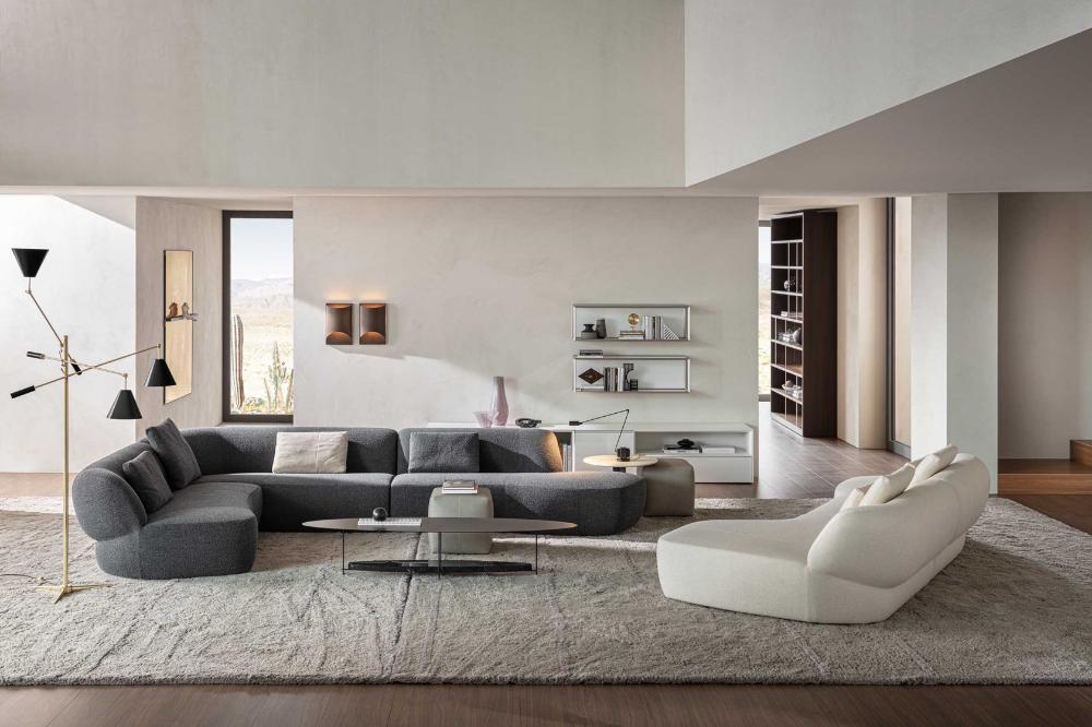 Surf Sofa By Molteni C Design Yabu Pushelberg In 2020 Italian Sofa Designs Sofa Design Modern Living Room