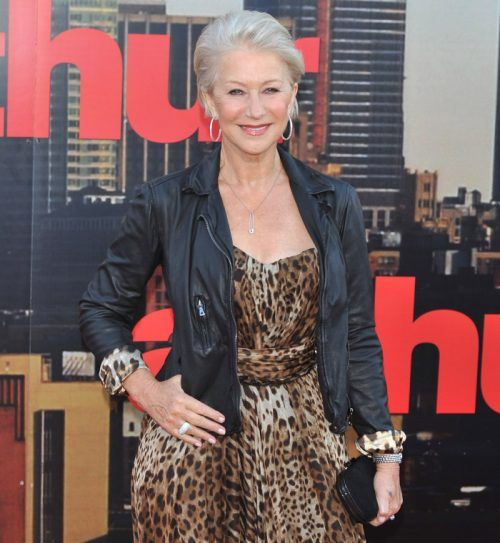 Helen Mirren - still beautiful and funky at 65