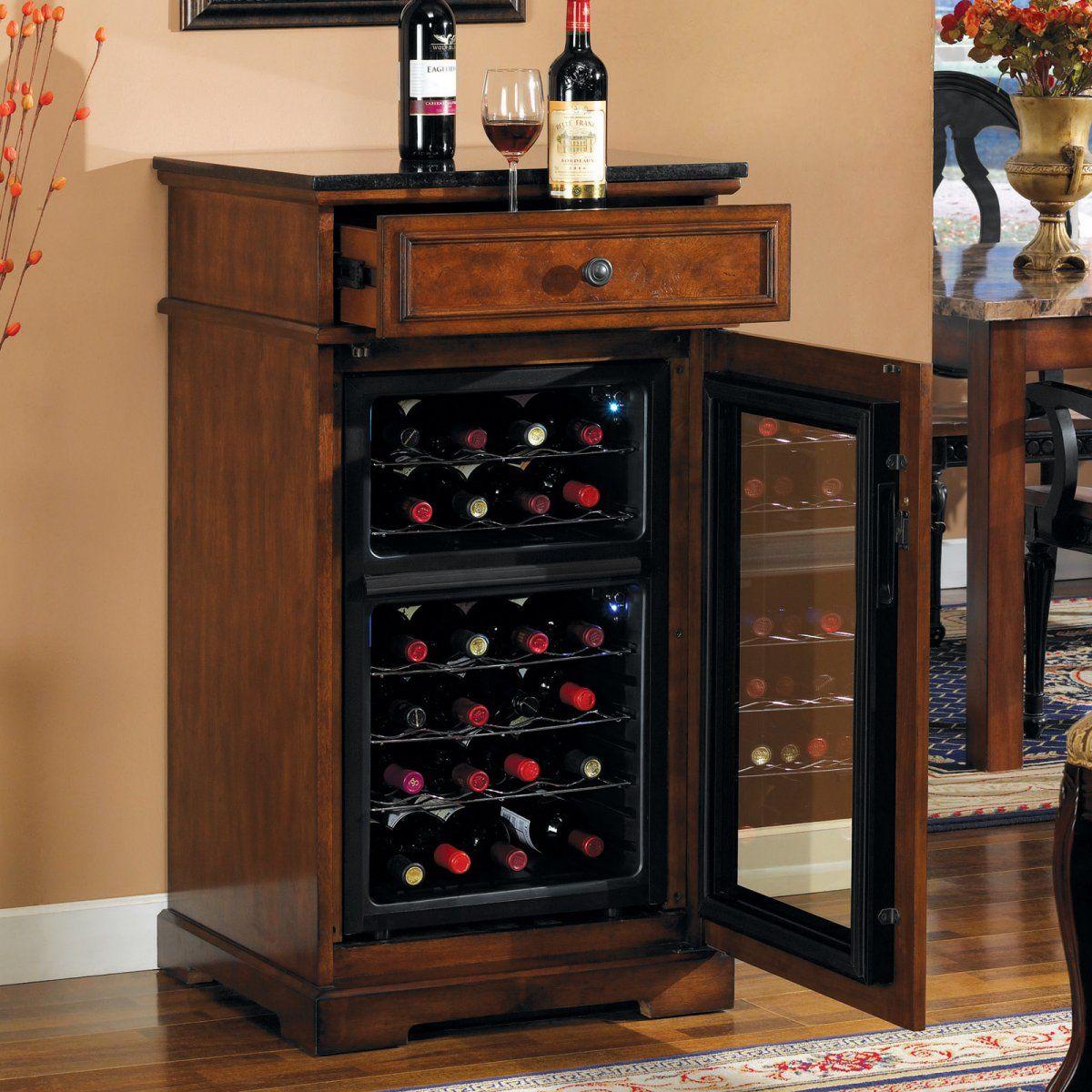 Tresanti Madison Dual Zone 24 Bottle Wine Cooler Wine Chiller Cabinet Wine Cabinets Built In Wine Cooler