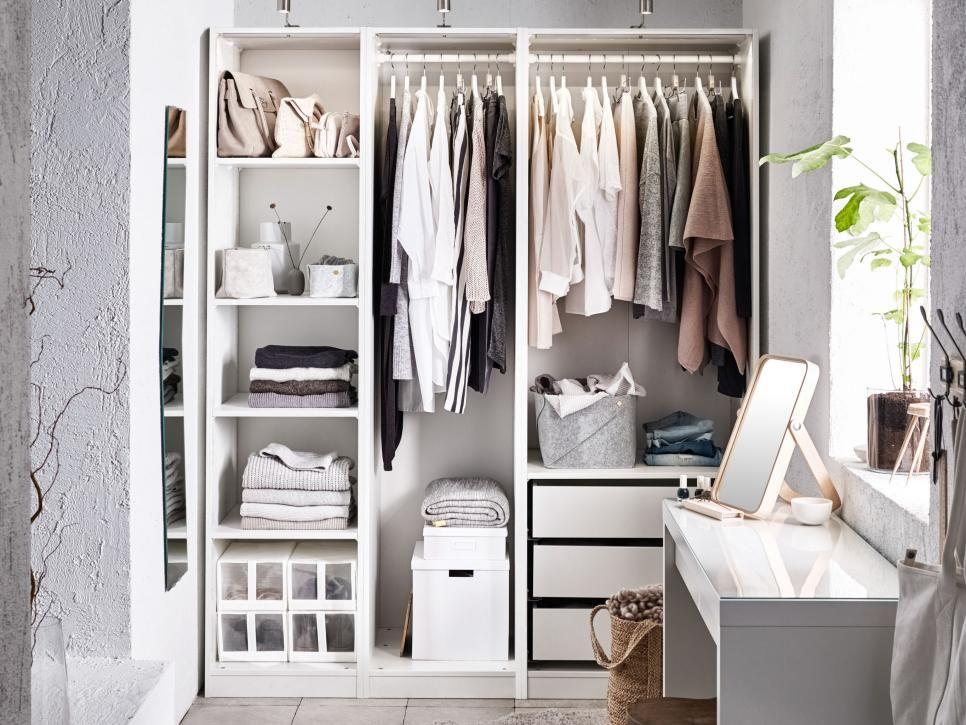 12 No-Closet Clothes Storage Ideas | organize | Pinterest