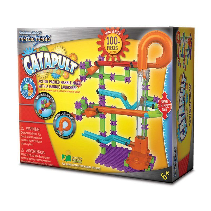 The Learning Journey Techno Gears Marble Mania Catapult 266823