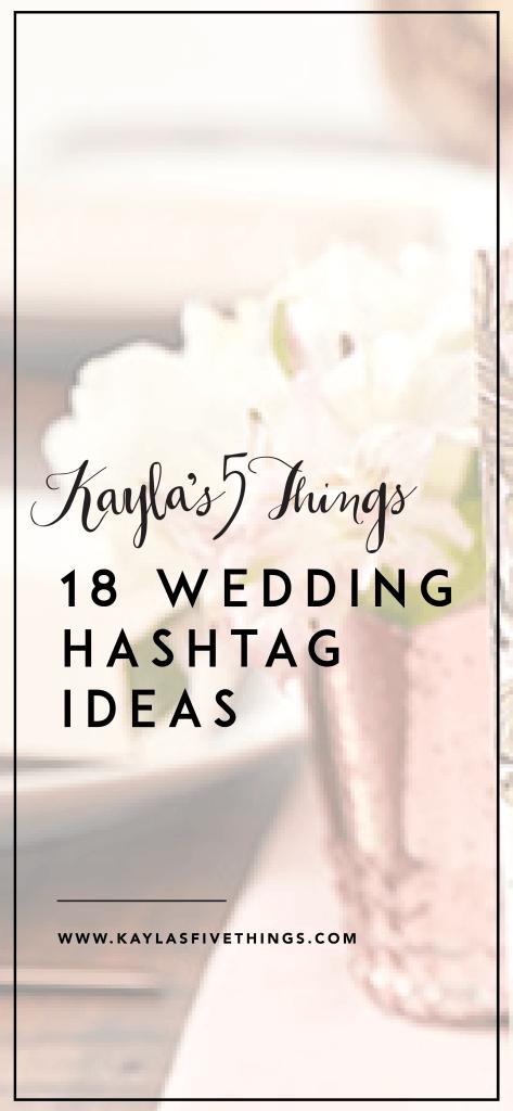 Pin on wedding hastags ideas