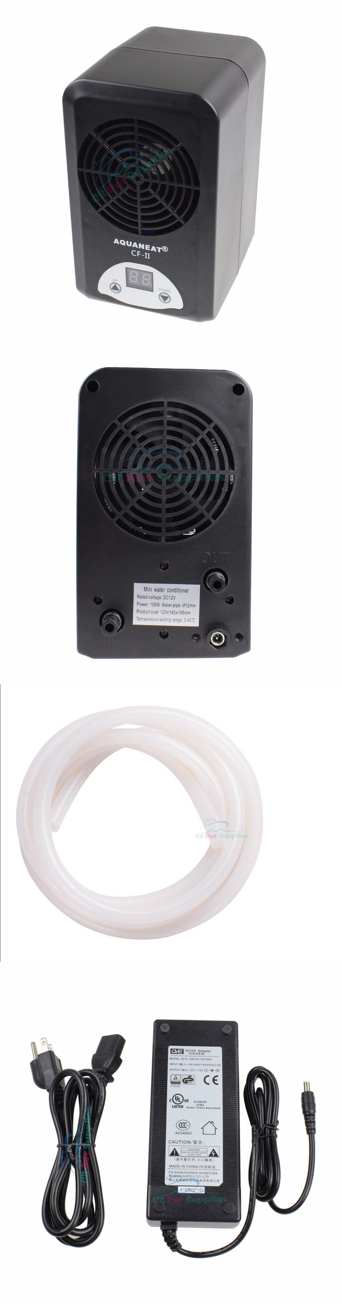 Fish tank chiller - Heaters And Chillers 177799 Aquarium Thermostat Chiller Heater Adjustable 108w Fish Tank Salt Fresh