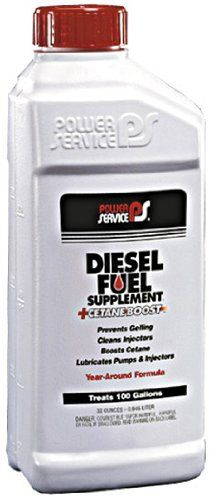 Power Service 102512pk Cetane Boost Diesel Fuel Supplement Antifreezer 1 Quart Pack Of 12 You Can Find More Details By V Car Oil Change Diesel Fuel