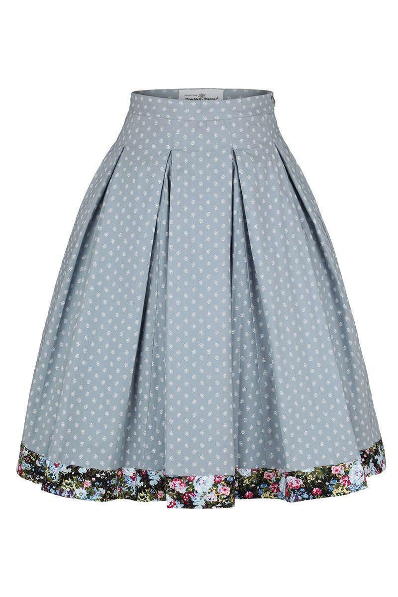 Trachtenrock hellblau - Trachtenröcke Röcke, Mieder, Kleider Damen