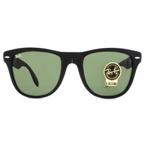 95f2129740dcf O Óculos de Sol Ray Ban Masculino Wayfarer Folding Classic Dobrável RB4105  601S-54 está