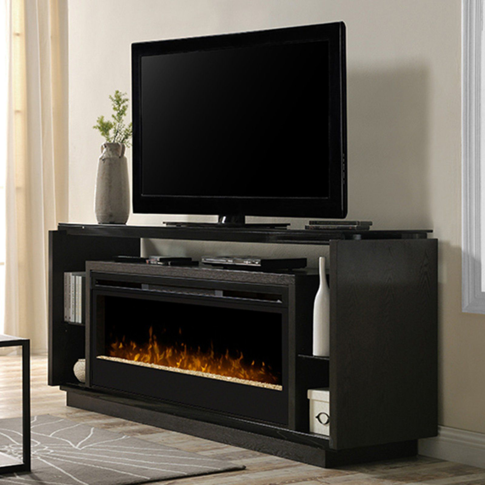 Dimplex David Media Console With Electric Fireplace With Images