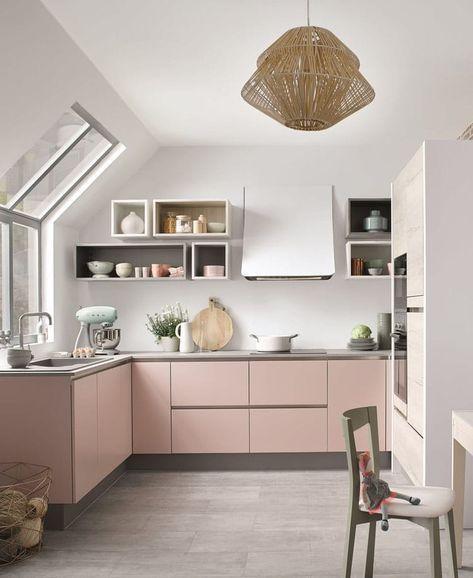 Cuisine rose pastel 20 inspirations canons pour l