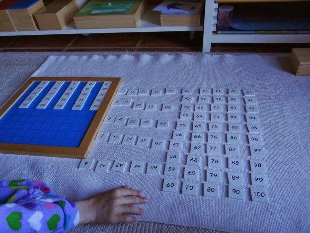 Tablero de 100 extensiones. Contar salteado // Hundred board extensions, skip counting