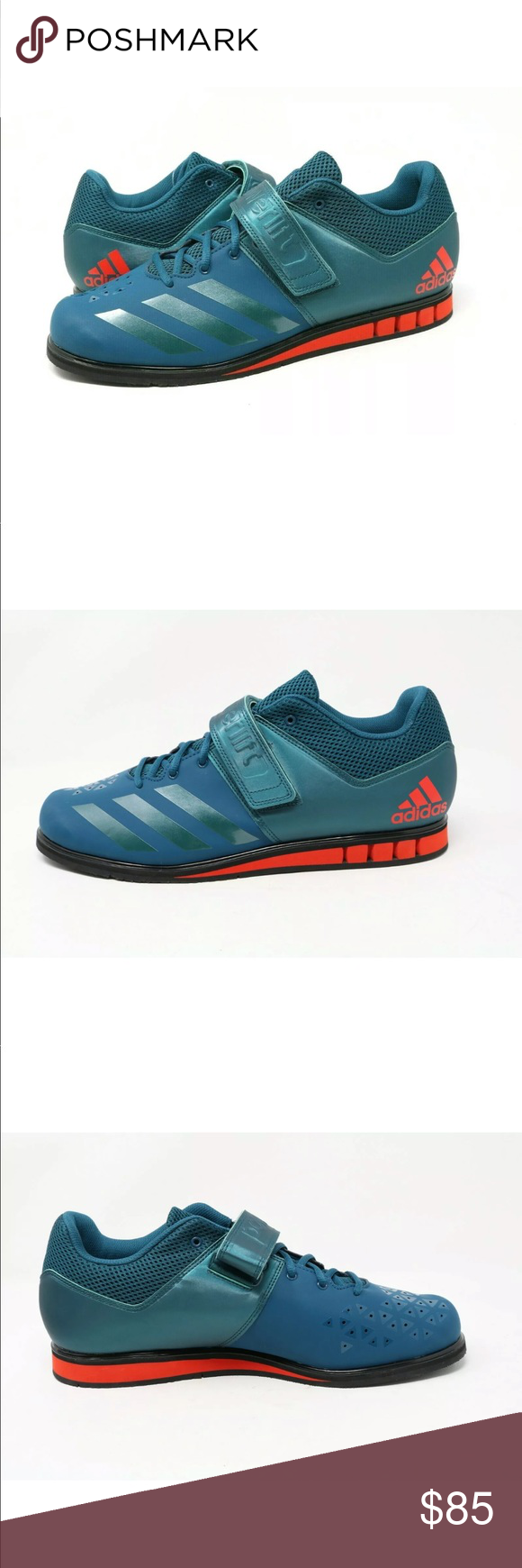 adidas powerlift 3.1 weightlifting shoes petrol