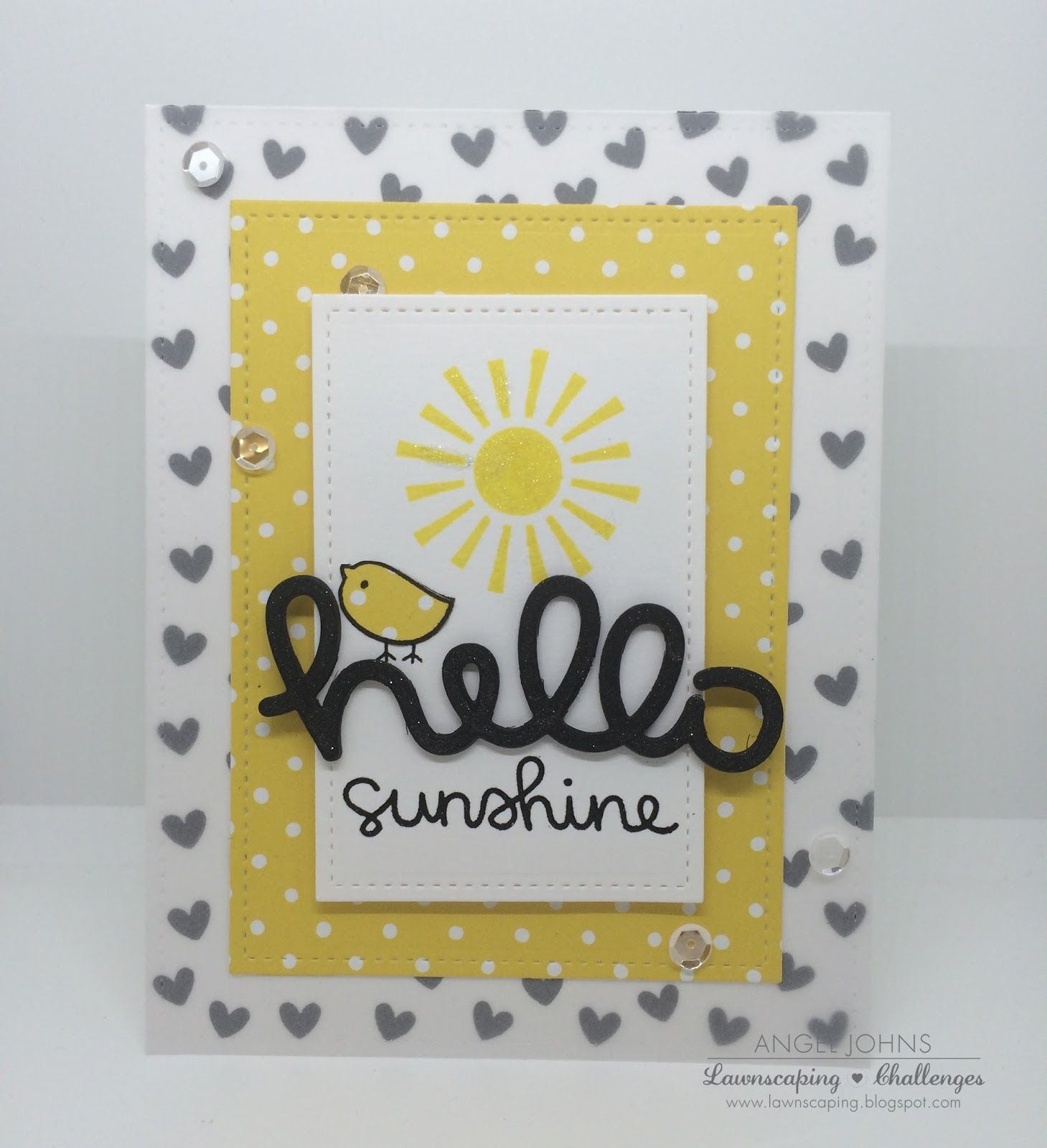 Lawnscaping Challenge: Hello Sunshine! by Angel