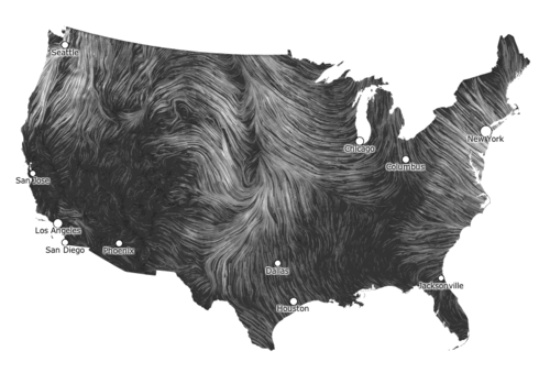 texturism:    this real-time wind map is hypnotizing. -warbyparker
