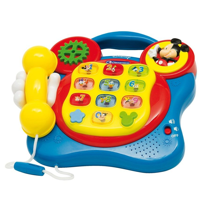 Talking and interactive Mickey Mouse Club House Telephone ...