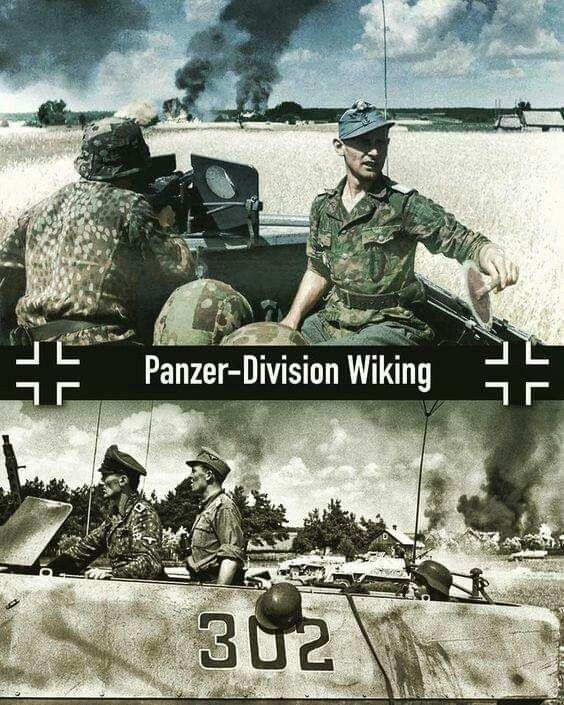 WW2 German Wehrmacht Elite Tank Panzer Division Wiking Picture