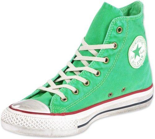 zapatillas converse verdes mujer