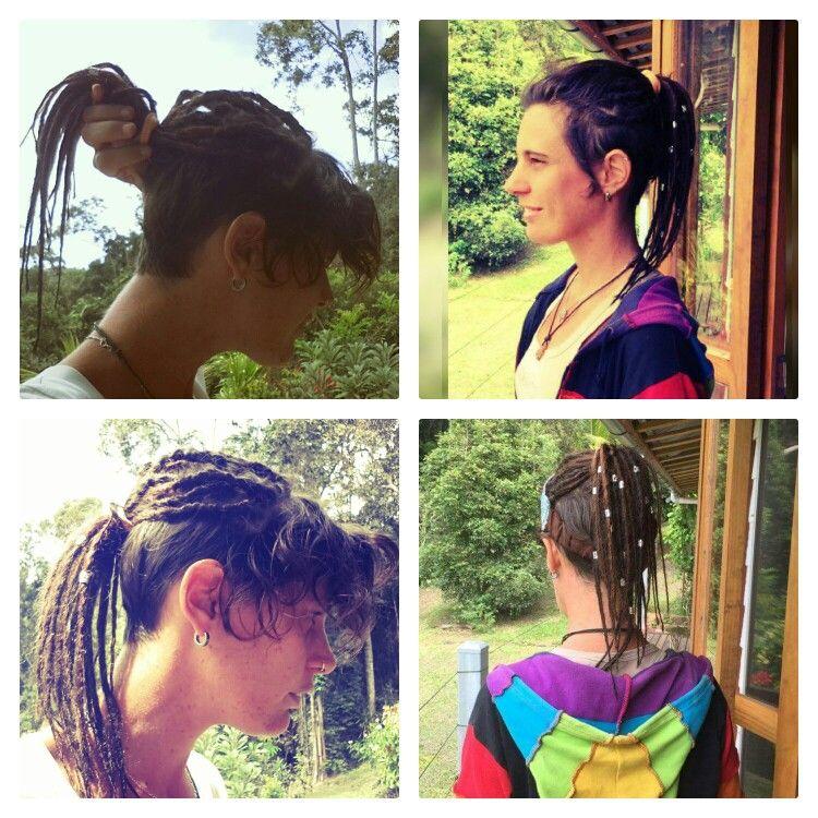 Dreadlocks + cheveux courts