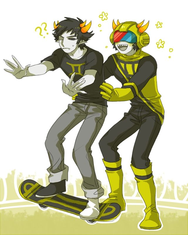 Homestuck Sollux And Mituna Homestuck Sollux and M...