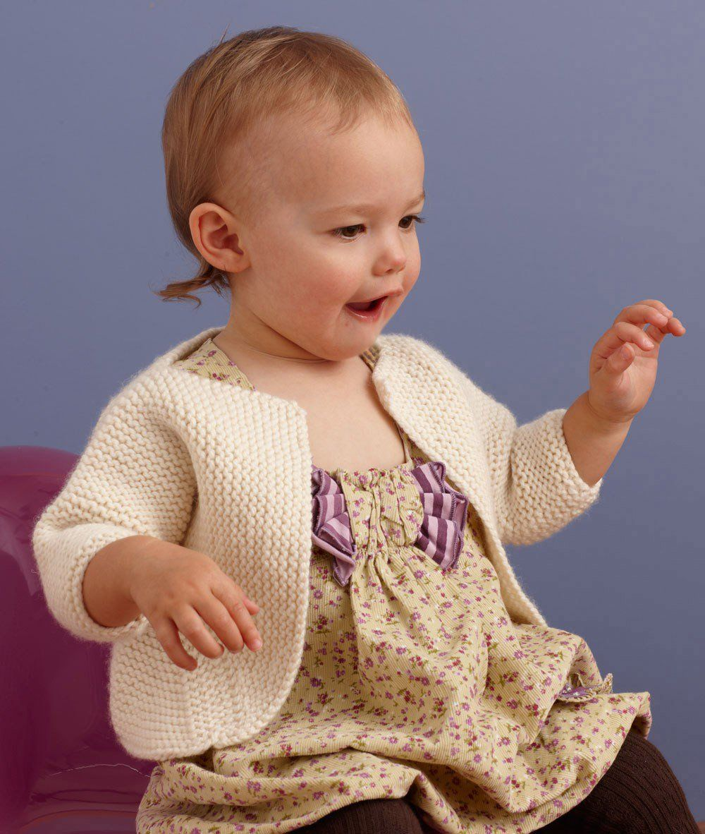 10+ Free Baby Sweater Knitting Patterns | Knitting patterns, Free ...