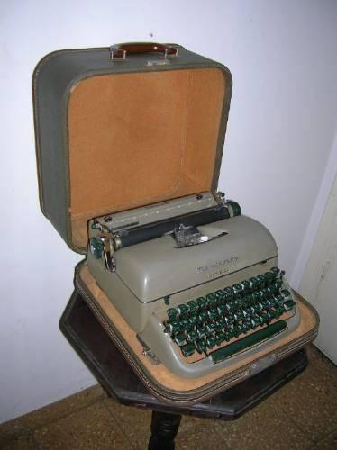 Antigua Maquina De Escribir Remington Con Estuche 380 mercado libre argentina
