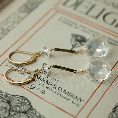Quintessence Earrings Pinterest Jewel Crystals And Gold - Chandelier jewels crystals