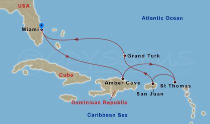 7 Nights Caribbean Eastern - Feb 12 2017 - Carnival Splendor ... on