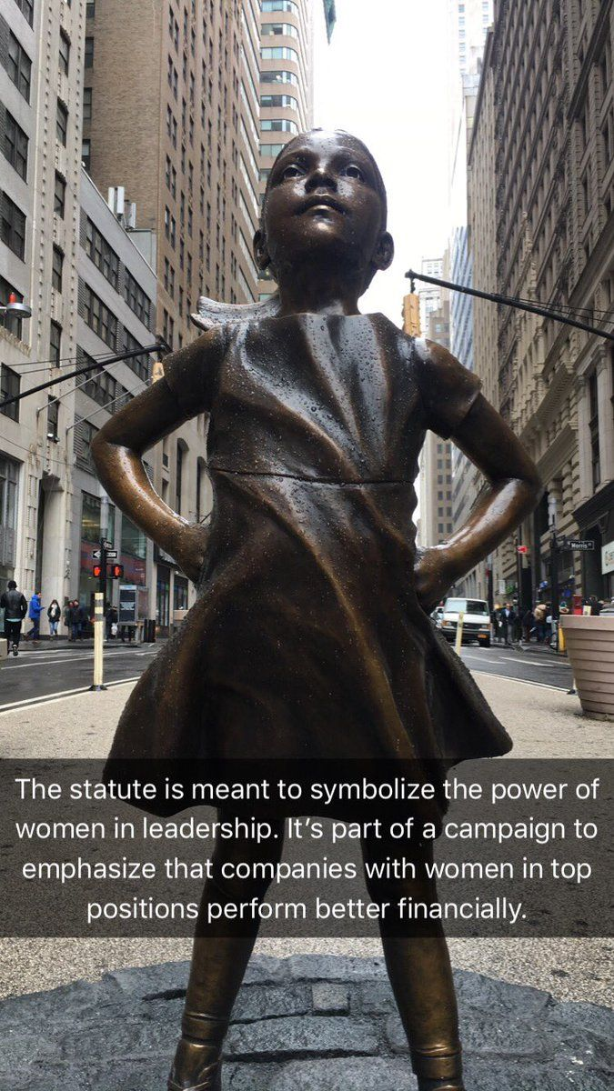 the fearless girl takes on wall street wall street on wall street news id=89585