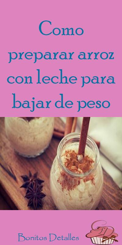 dieta+para+bajar+de+peso+con+leche+de+arroz