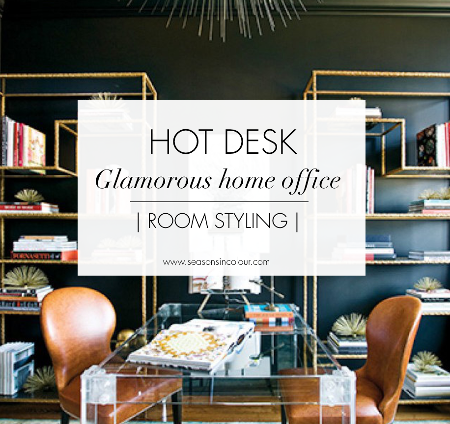 home office interiors. HOT DESK - Glamorous Home Office Interior Design Decor Workspace Celebrity Luxury Interiors