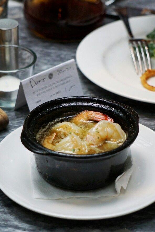 Garlic Prawns Hurricane S Grill Jakarta
