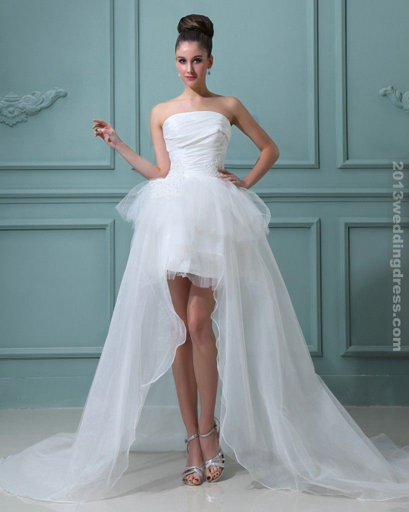 Short bridal gowns wedding dresses\