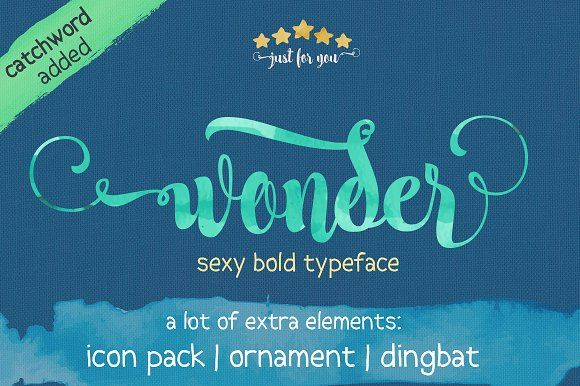 Wonder by JROH Creative on @creativemarket