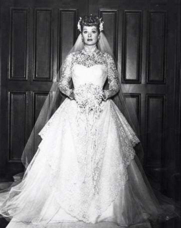 Filmstars Love Her I Lucy Celebrity Wedding Dresses Weddings