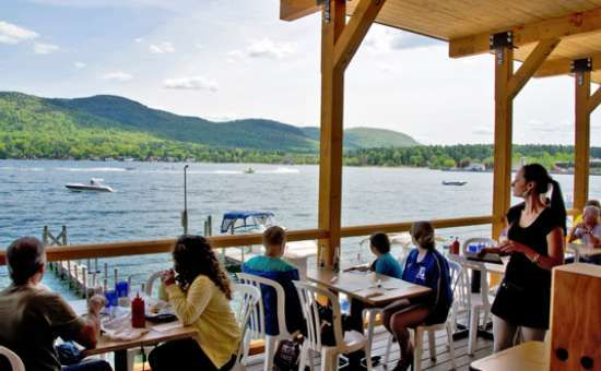 Lake George Restaurants Ny Lakeside Dining Summer Vacations
