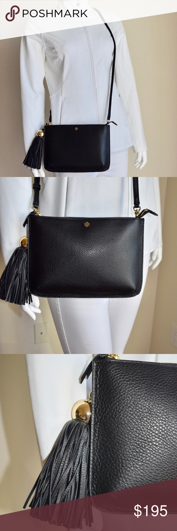 TORY BURCH TASSEL CROSSBODY BAG 💎Brand New with tag and Authentic 👍  💎Same day 9df901f5d8