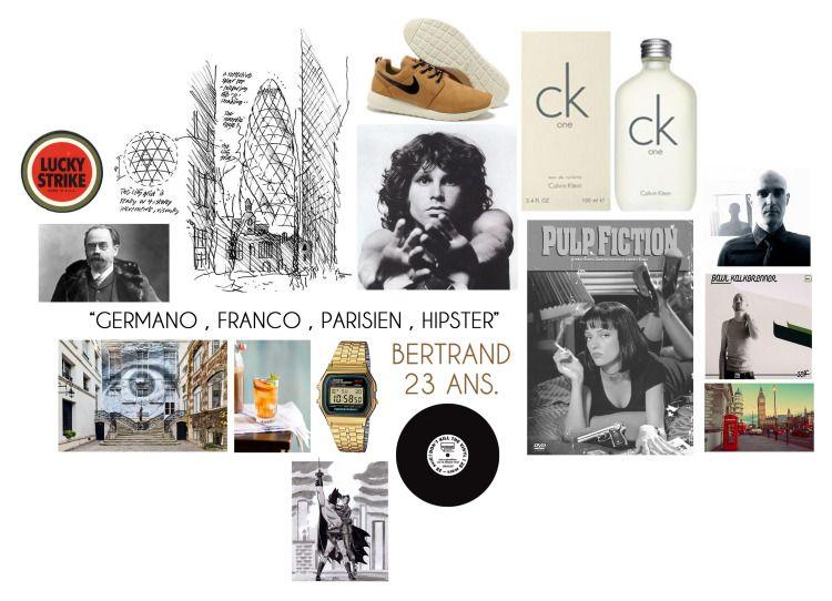 "Bertrand, 23 ans : ""Germano, franco, parisien, hipster"""