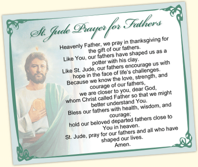 Image detail for -St. Jude Prayer for Fathers - My Prayers ...
