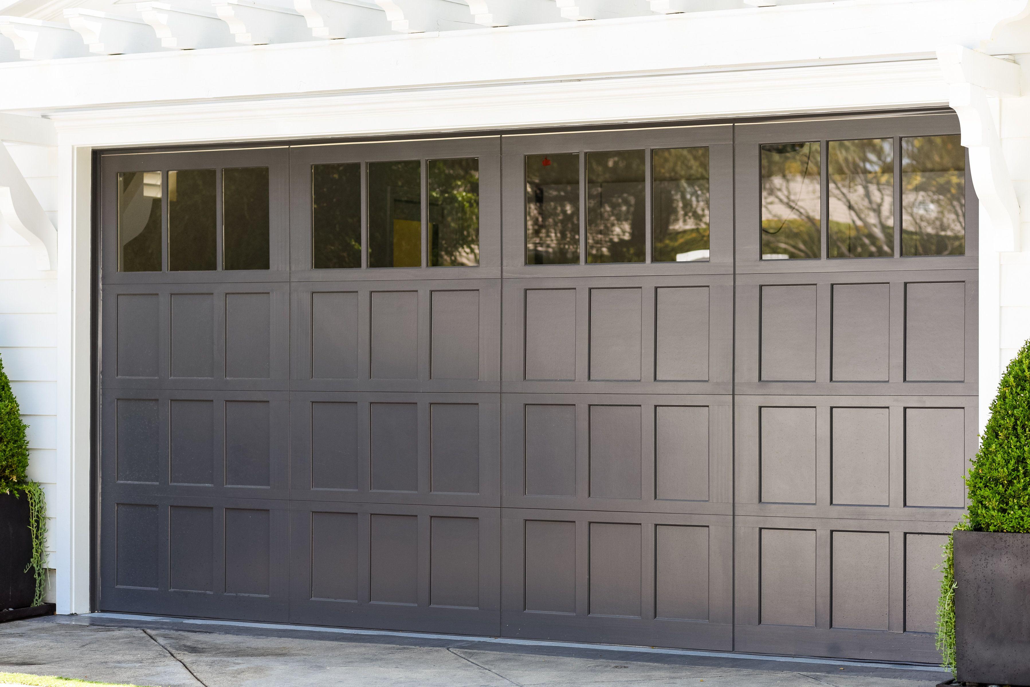 Beautiful Wayne Dalton 7104 Carriage Door with 12 Light